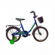 """Велосипед 12""""  Black Aqua 1204 с корзиной синий"""